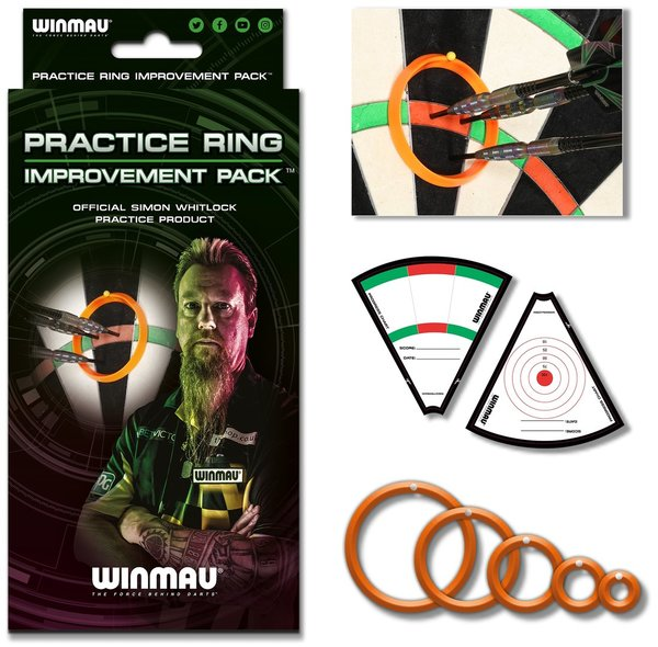 Winmau Trainingsringe Simon Whitlock Practice Rings 8415